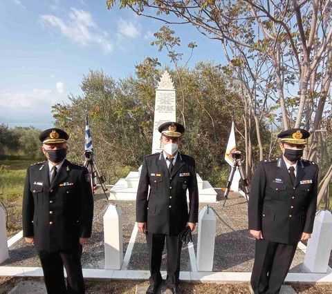 Καμ. Βούρλα : Επιμνημόσυνη δέηση στο Μνημείο των πεσόντων Πυροσβεστών