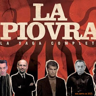 composite of Nanau and Tolontan on La Piovra / Caracatita / Octopus poster