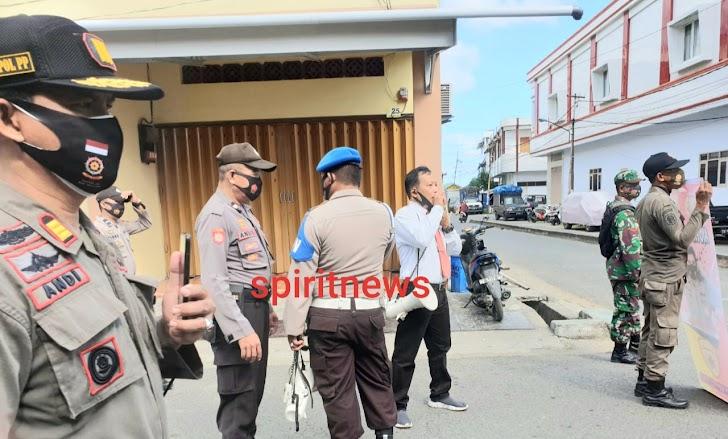 TNI-Polri, Satpol PP jaring 287 masyarakat yang melanggar protokol kesehatan dalam Operasi Yustisi