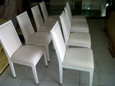 ganti jok kursi makan bekasi