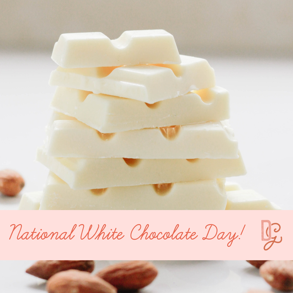 National White Chocolate Day Wishes For Facebook
