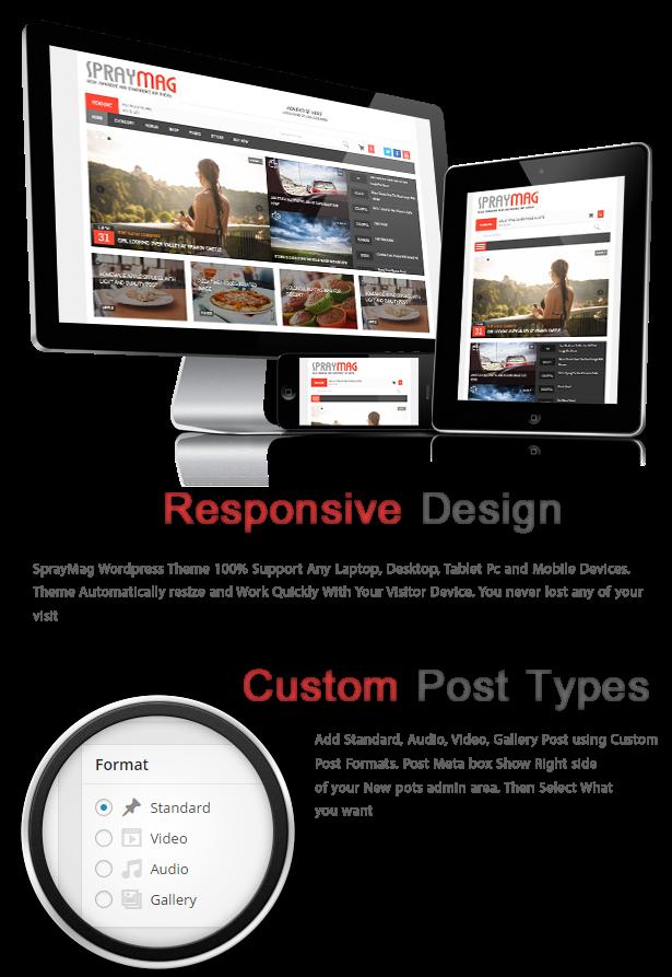 Spraymag - eCommerce, Magazine, Responsive Blog Theme - 4