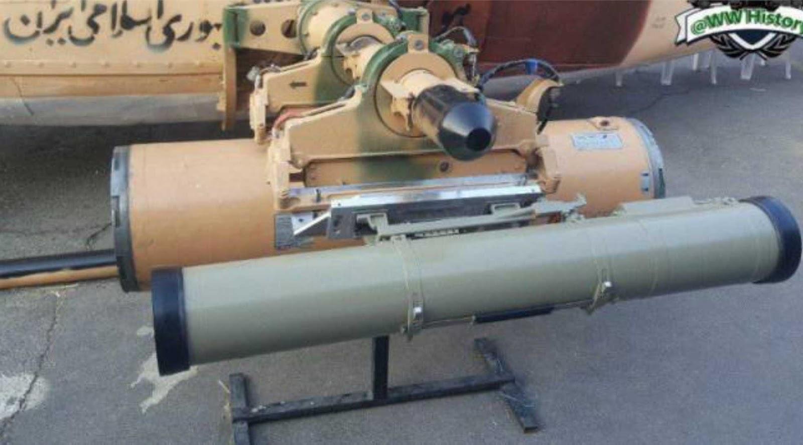 Helikopter Iran dipersenjatai klon Cornet dari Rusia