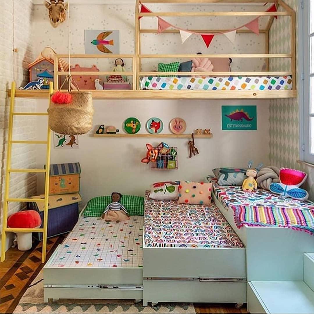 Inilah Desain Kamar Anak Kembar Yang Lucu Dan Unik ~ Homeshabby.com :  Design Home Plans, Home Decorating And Interior Design