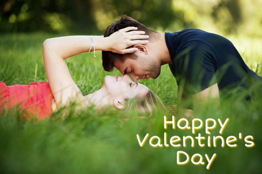 Happy valentines day images with boy and girl