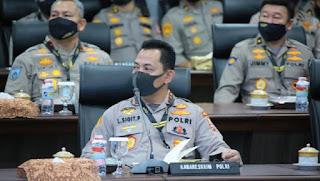 Presiden Jokowi Tunjuk Komjen Listyo Sigit Purnomo Jadi Kapolri