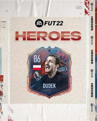 Jerzy Dudek FUT Heroes FIFA 22