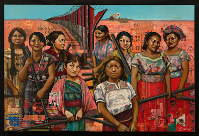American Women (dismantling the border), Erin Currier