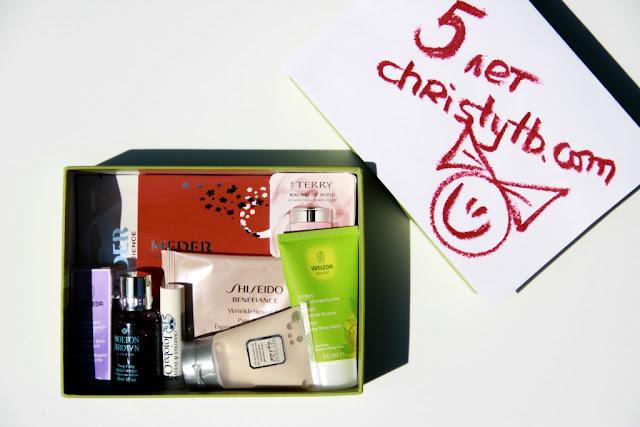Блогу christytb.com 5 лет: Приз #5 - коробочка Christytb Box