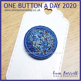 One Button a Day 2020 by Gina Barrett - Day 41 : Ciara