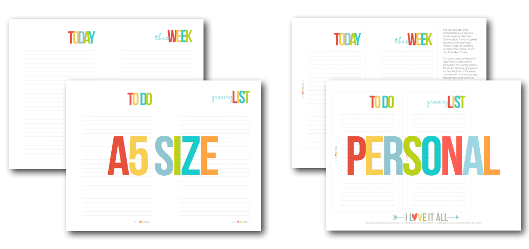 #filofax #kikkik #franklinplanner #printables #planner #lists #planner #thisweek #today