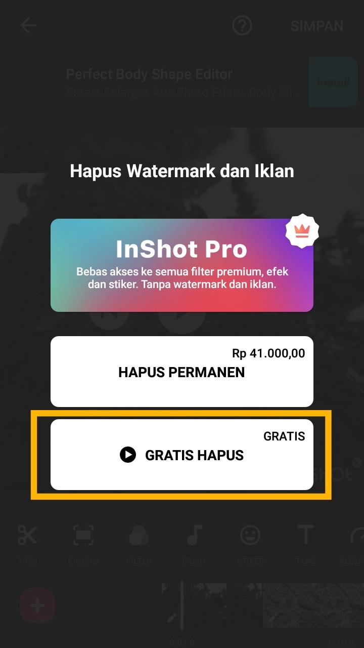 Bagaimana cara mengedit foto menjadi video di InShot?