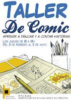 TALLER DE COMICS CON ARTURO GARCIA BLANCO EN BLANCO. 1