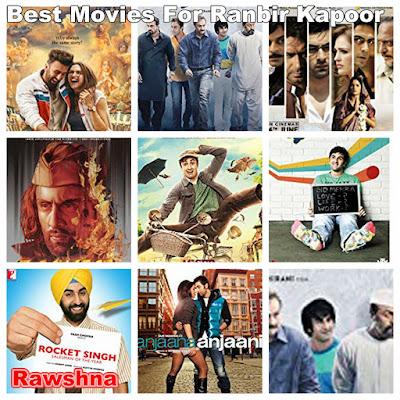 افضل افلام رانبير كابور على الاطلاق Ranbir Kapoor قائمة افضل 8  أفلام رانبير كابور Tamasha Sanju Raajneeti Rockstar Barfi! Wake Up Sid Anjaana Anjaani