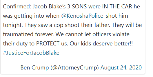 Black Man Shot by Wisconsin Police in Front of 3 Sons, Says Lawyer, as Video Sparks Protests