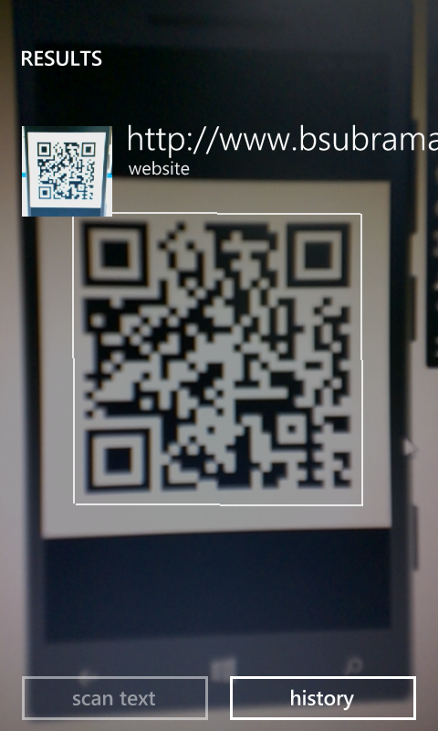 WindowsPhone 8 1 : Generate QR code with ZXing library (C
