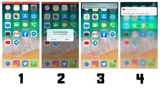 Cara Menggunakan Screen Recording pada iPhone