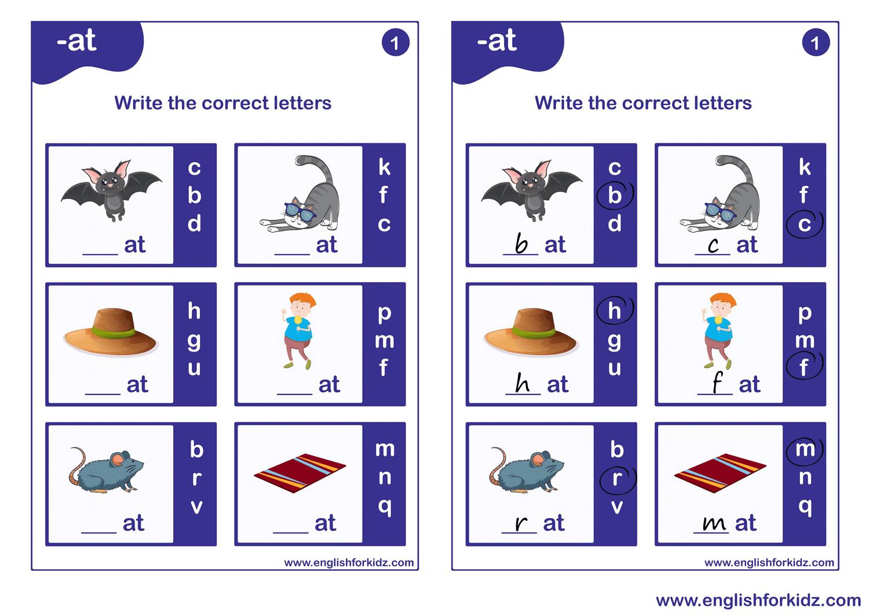 Vowel Phonics Kit: Worksheets [ 1060 x 1500 Pixel ]