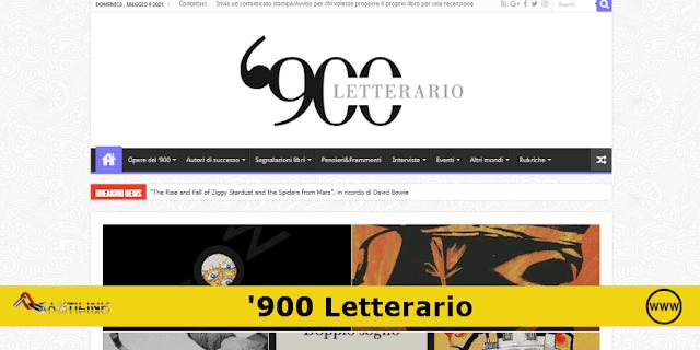 Sito web: '900 Letterario Magazine