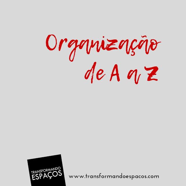 Organização de A a Z