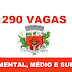 Prefeitura de Presidente Prudente - SP oferece 290 Vagas de emprego através Do Balcão de Empregos! - SAIBA MAIS!