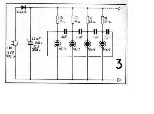 eletr u00f4nica free circuits  seq u00fc u00eancial neon simples