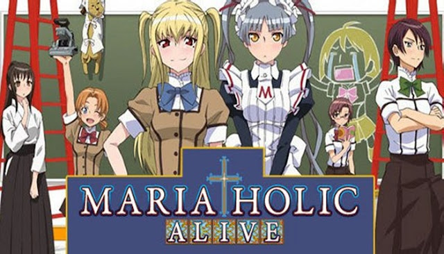 Download Maria Holic Alive Subtitle Indonesia