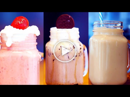AwesomeSauce Top 3 DIY Milkshakes