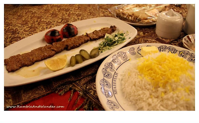 Iran: Eating Alone in Tehran - Ramble and Wander
