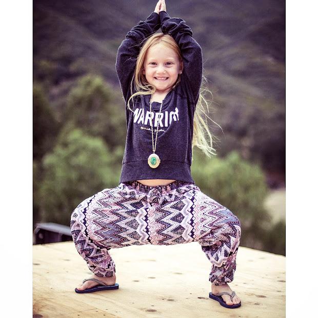 Kids Yoga Daily Big Gypsy Style Little Yogis Trendsetting Yogipreneur Adds Sizes