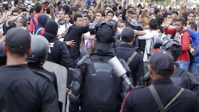 Ribuan Orang Ditangkap Gara-gara Unjuk Rasa Ganti Presiden