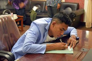 Lalu Muhammad Zohri Sang Juara Masuk IKIP Mataram