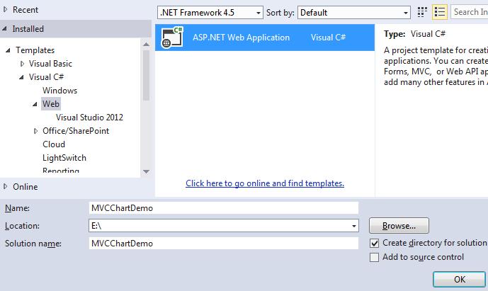 Creating asp.net mvc 5 application