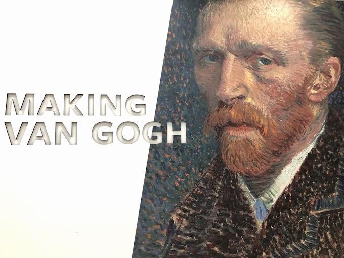 """Neulich bei """"Making van Gogh"""" im Frankfurter Städel"""