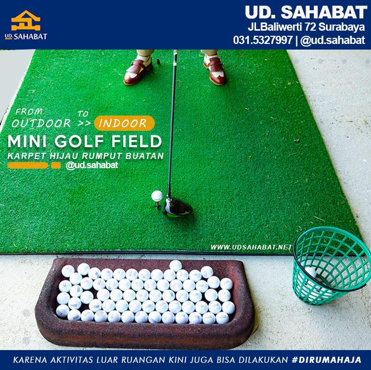 jual karpet hijau rumput golf ud sahabat baliwerti surabaya