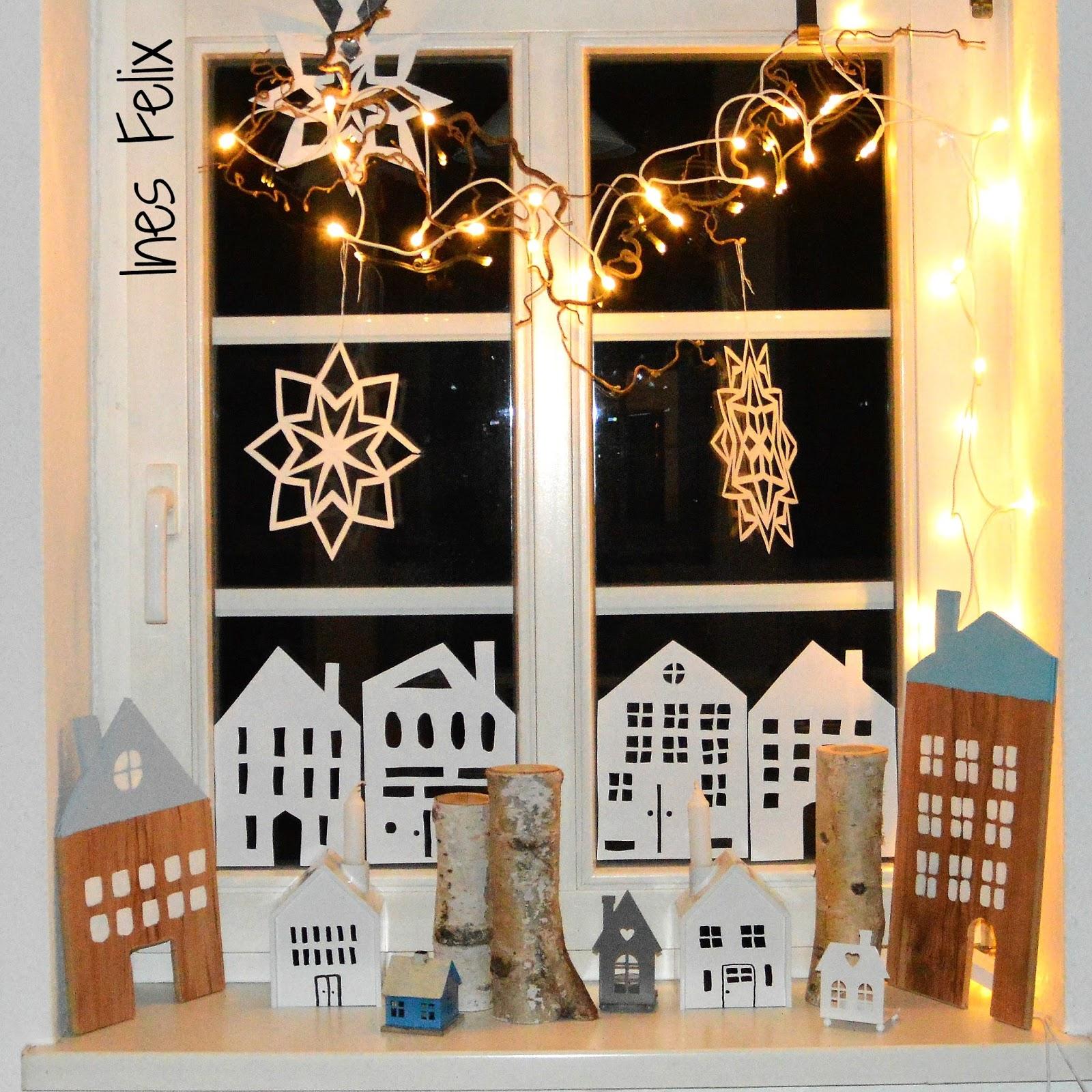 Ines Felix - Kreatives zum Nachmachen: Winter-Weihnachts-Fenster ...