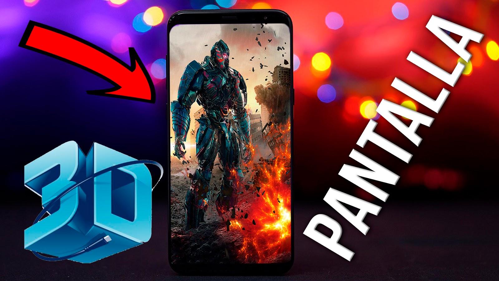 Pantalla 3d Para Cualquier TelÉfono Android: Pantalla 3D En Cualquier Celular Android Full Hack