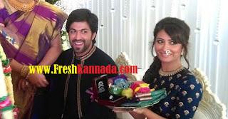 Yash and Radhika Pandits engagement image