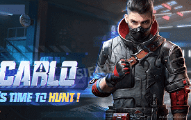PUBG Mobile Character Carlo Face  Final Look Reveal