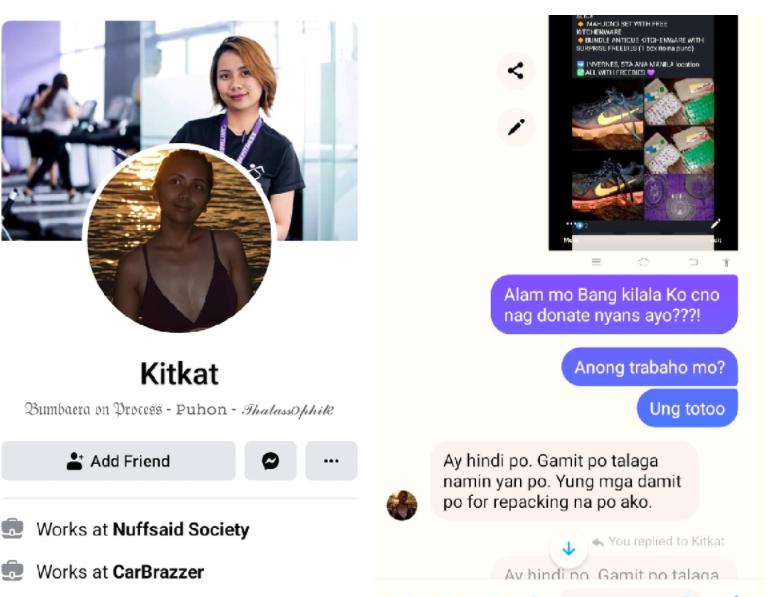Babae, nahuling ibinebenta online ang gamit na nalikom mula sa mga donation na kanyang ring hiningi