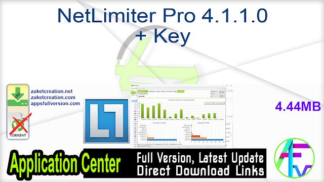 NetLimiter Pro 4.1.1.0 + Key