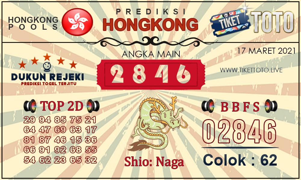 Prediksi Togel HONGKONG TIKETTOTO 17 MARET 2021