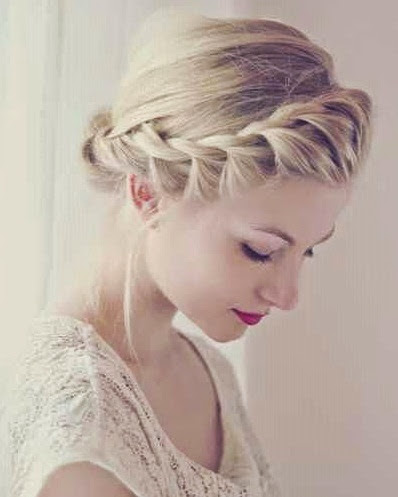 #beauty 4 elegant braided updo