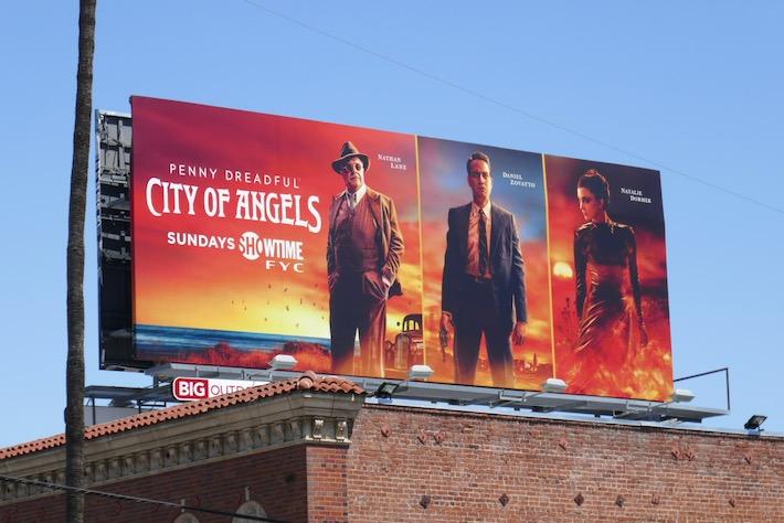 Penny Dreadful City of Angels FYC billboard