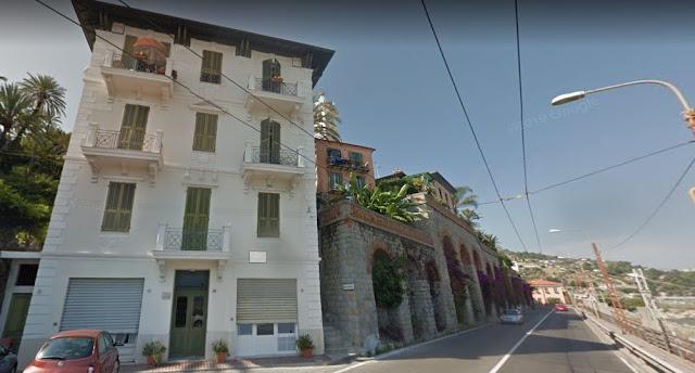 Bordighera, a Villa delle Onde Alfano...