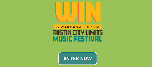 Warner Music Canada wants to send one lucky winner and their guest to Austin City, Texas to attend the Austin City Limits Music Festival!