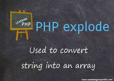 PHP explode() Function