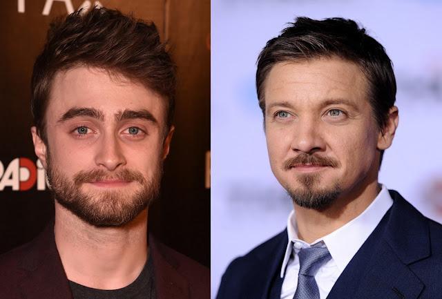 Daniel Radcliffe jeremy renner barbe beard