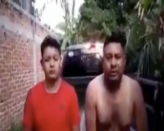 VIDEO: Sicarios de El Marro interrogan y luego descuartizan a policías por operar para el CJNG