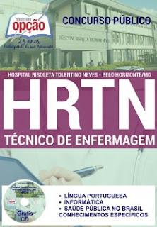 Apostila Hospital HRTN Técnico de Enfermagem
